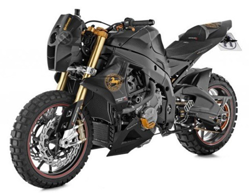 Siêu môtô độ BMW S1000RR Mad Max