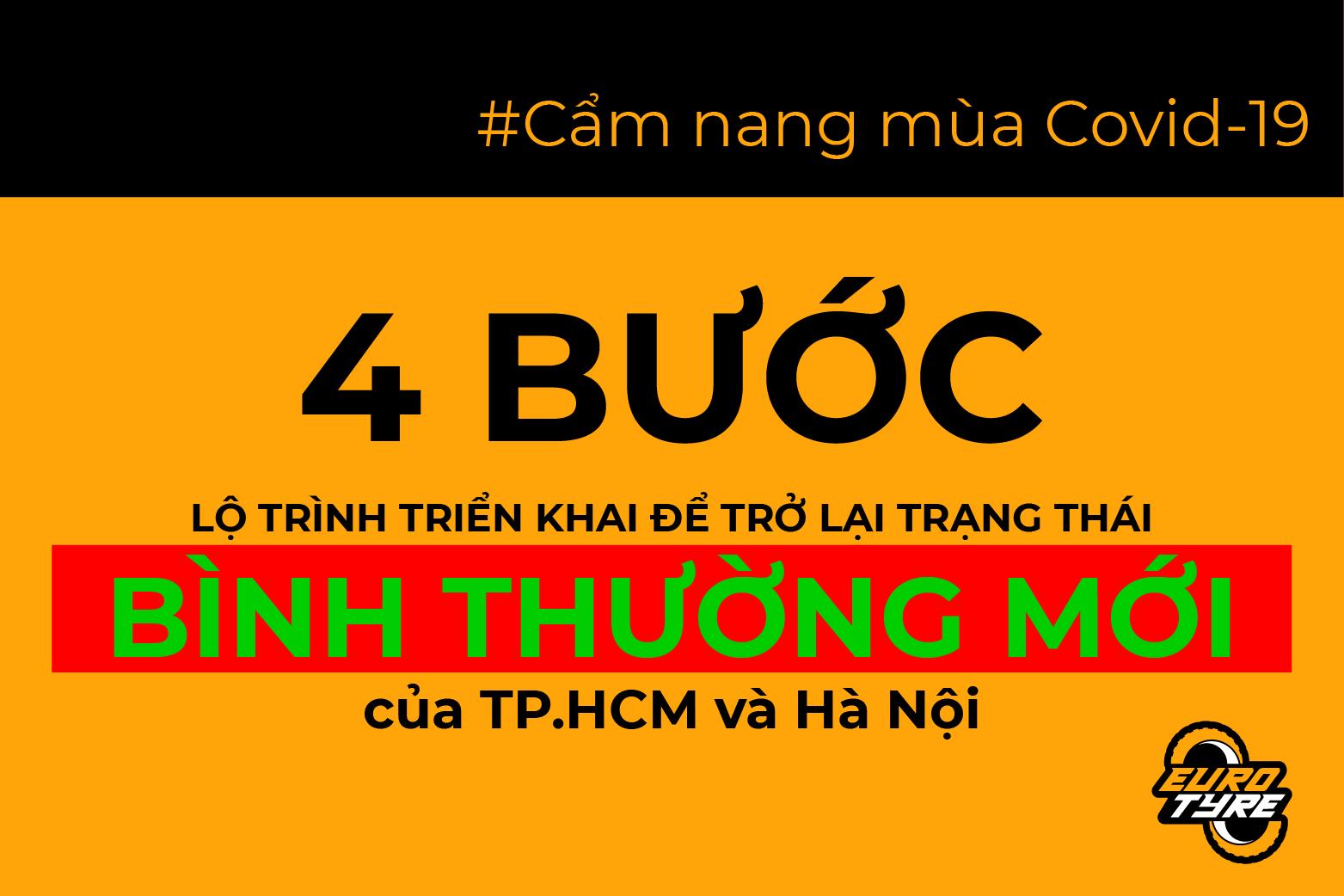 Toàn cảnh lộ trình trở lại trạng thái Bình thường mới của TP.HCM và Hà Nội