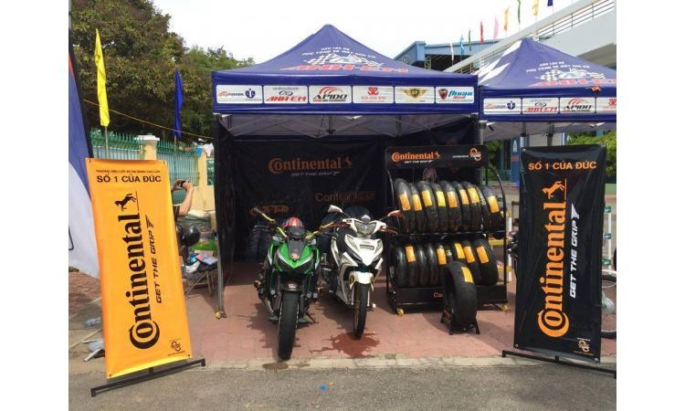 Continental xuất hiện tại giải Đua xe vô địch Quốc Gia