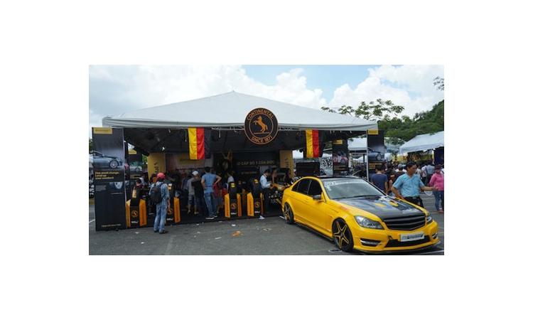 "Lốp Continental ""ghi dấu ấn"" tại Vietnam Motorbike Festival"