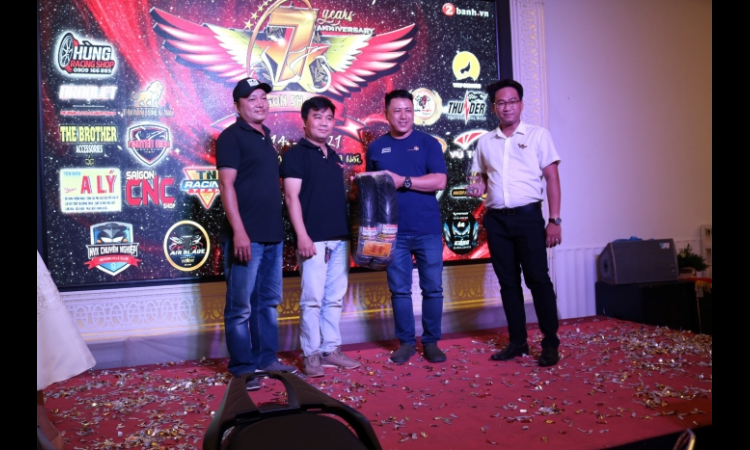 EuroTyre tham dự tiệc sinh nhật SH Sài Gòn Club và đấu giá quyên góp thiện nguyện
