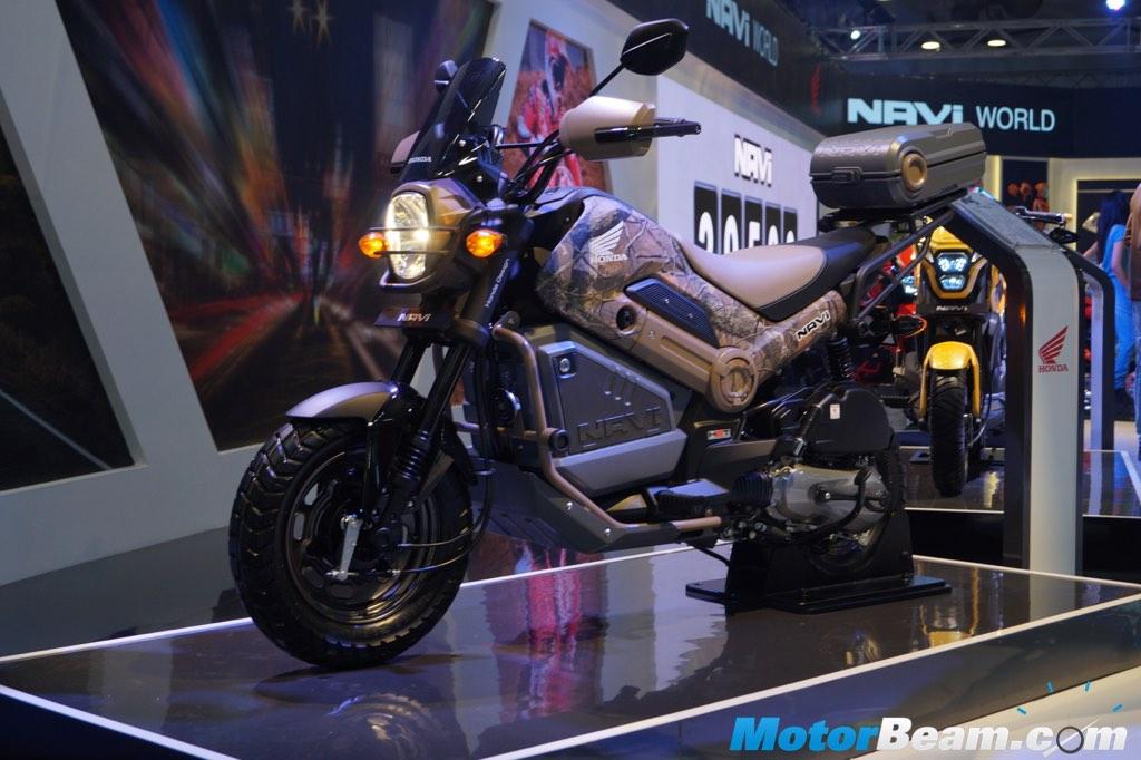 Giới thiệu tay ga giá rẻ của Honda Navi hầm hố